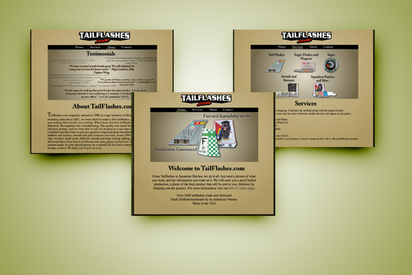 Tailflashes Website